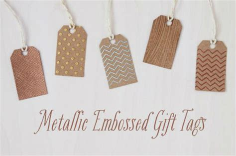 easy gift card tags diy templates awesome diy gift tag ideas diy projects craft ideas how