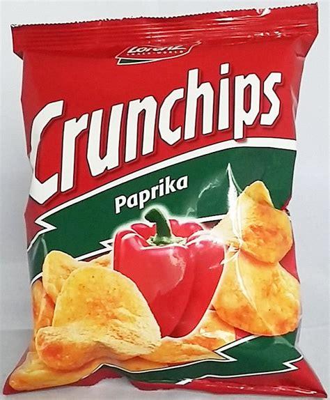 Lorenz Chips lorenz crunchips paprika 50g chips snack 16 beut s 252 ssigkeiten s 252 sswaren onlineshop f 252 r