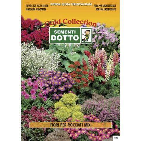 fiori per giardini rocciosi linea fiori gold mix di fiori per giardini rocciosi