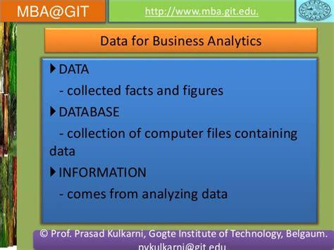 Mba Data Anlytics by Business Analytics Module 5 14mba14 According To New Vtu