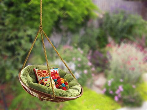 hanging tree swing chair 10 diy adorable tree swings