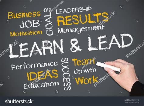 learn and lead stock images learn lead stock photo 150235112