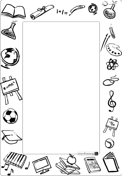 cornici per quaderni scuola primaria cornicette e bordi maestra