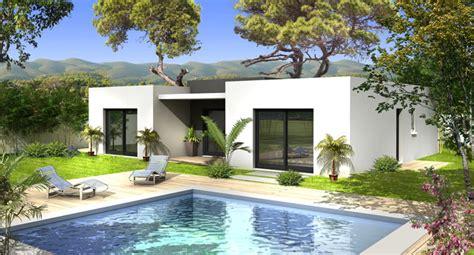 Villa Prisme Plan De Cagne by Plan Maison Villa Prisme