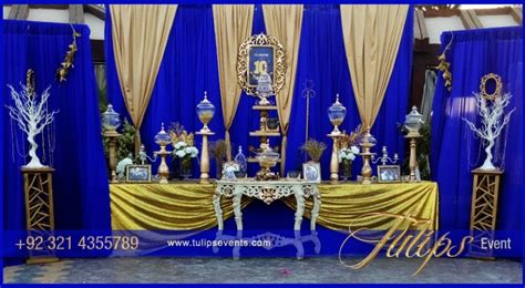 Harga Make And The Beast Set wedding decoration blue and gold images wedding dress