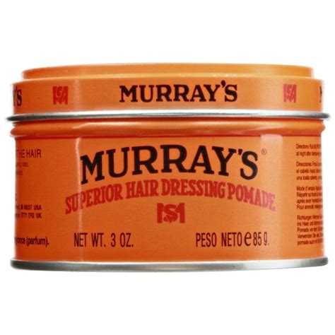 Pomade Murray S Superior murray s superior hair dressing pomade medium hold base pomade pomade