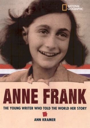 anne frank picture book biography world history biographies anne frank the young writer