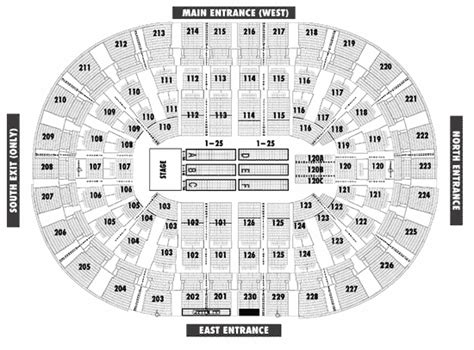 joe louis arena seat map joe louis arena seating chart