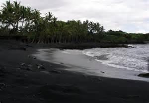 black sand island panoramio photo of hawaii big island black sand beach oct 2004