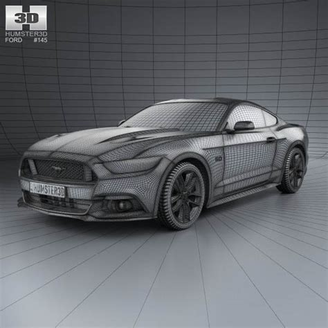 blueprints ford mustang images