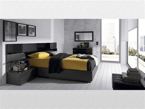 muebles rey teruel dormitorio matrimonio ceniza lacado negro del modelo