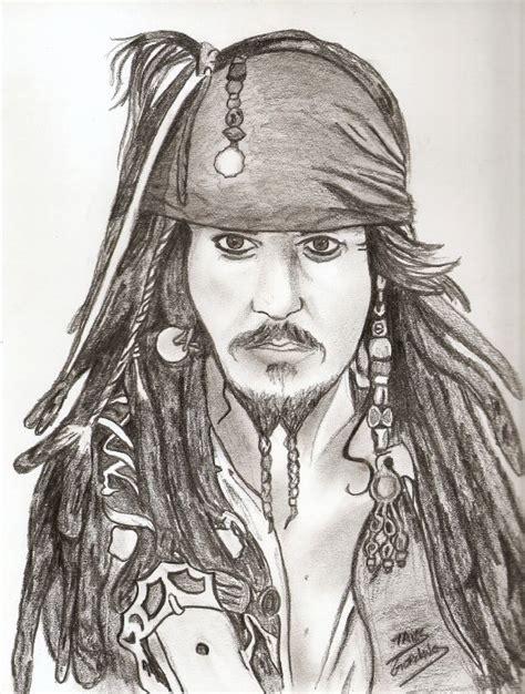 imagenes de jack sparrow dibujos retratos y personajes en valores taringa