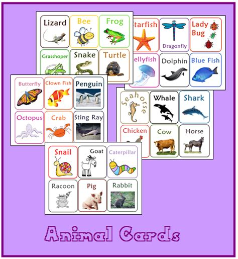 printable animal cards free free printable animal cards sprouting tadpoles