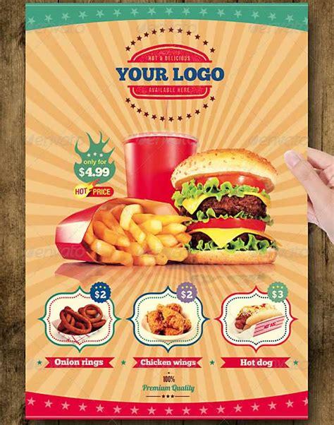 Flyer Design Inspiration Food