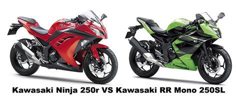 Kawasaki Z250 Mono Tahun 2014 kawasaki z250 vs kawasaki z250sl specification hikayat