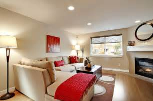 Decorating Model Homes townhouse living room modern living room seattle