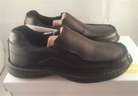 scholl comfort shoes dr scholls mens casual comfort shoes ryan black leather