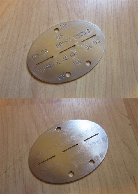 marine tags luftwaffe and kriegsmarine tags assuming