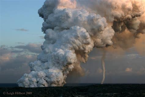 Stelan Pkumy hawaiian lava daily vortex plume twisters