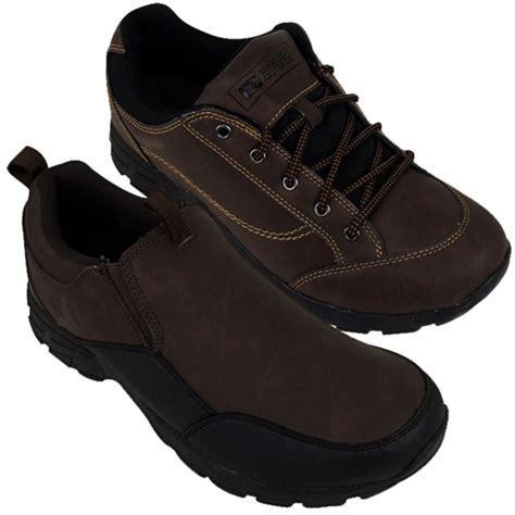 mens rugged shoes mens rugged outback casual walking shoes outdoor trainers hiking loafers shoe ebay
