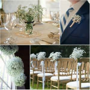 Wedding Pew Decorations Ingredients Gypsophila Bloom Fleuriste