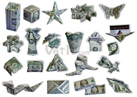 Cool Dollar Bill Origami - money origami set learn to create 21 origami designs