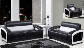 black livingroom furniture global furniture black and white leather modern sofa