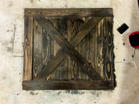 One Thrifty Chick Diy Distressed Gate Tutorial