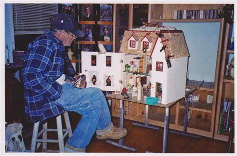 christmas doll houses a love affair with dollhouses sandy s chatter
