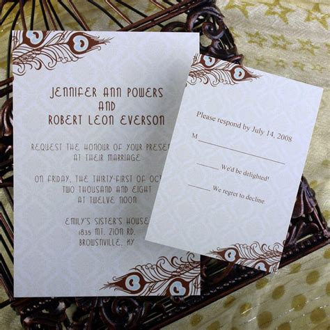 printable wedding invitations cheap cheap peacock wedding invitations online at