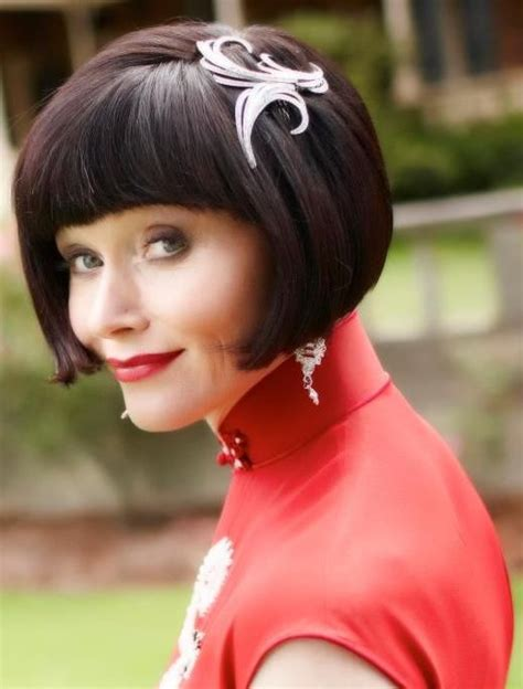 essie davis hairstyle art deco costume