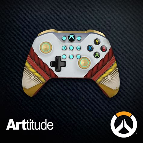 Overwatch Giveaway - check out these stunning overwatch xbox one controllers on msft