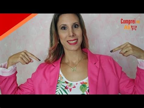aliexpress blazer rosa review compreinoali