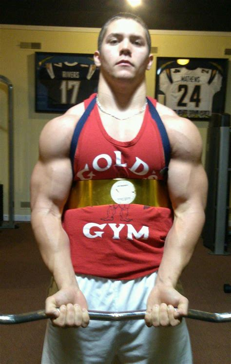Suplemen Q Ten look in new tank top bodybuilding forums