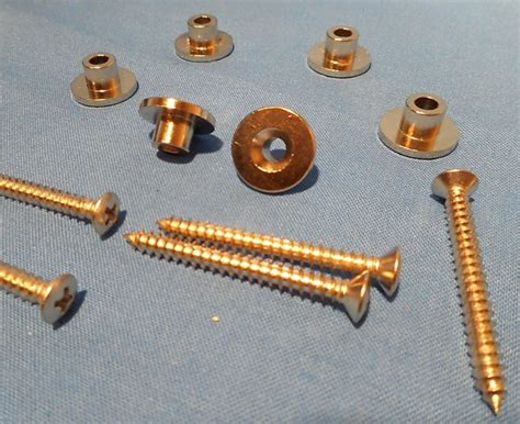 Ferrule Bass 6 new bass guitar neck ferrules and screws for washburn