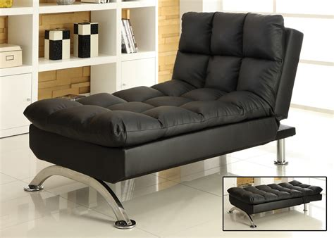 leather chaise lounge canada sussex lounge chair in faux leather black klik klak brand