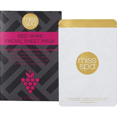 Wine Mask wine infused masks sheet mask