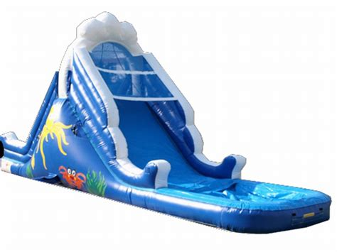 australia inflatable 14 water slide for sale inflatable