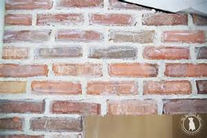 fireplace brick mortar how to mortar rub brick on a fireplace the handmade home