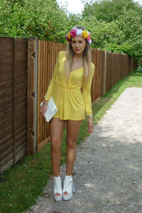 pretty lil thing pretty little thing playsuit review lucy lu rose