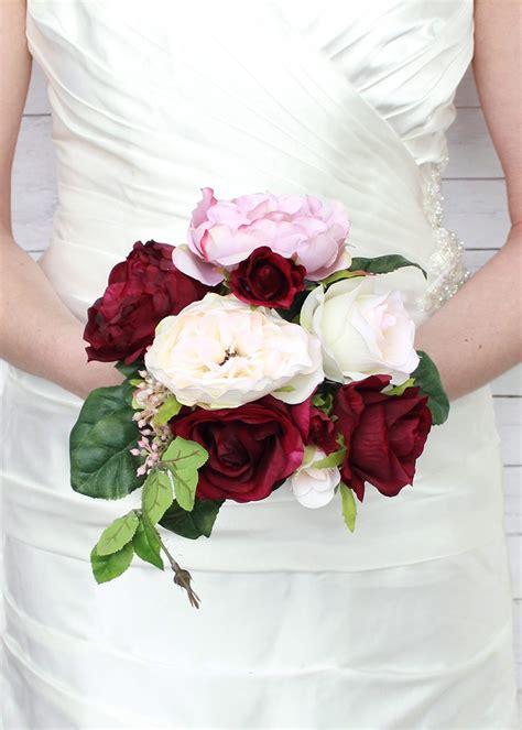 Silk Wedding Flower Ideas by Flowers Gorgeous Silk Wedding Bouquets For Wedding