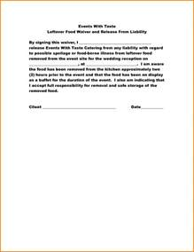 disclaimer forms template 12 food disclaimer template financial statement form