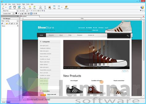 site planning software professional web website design editor software edit html