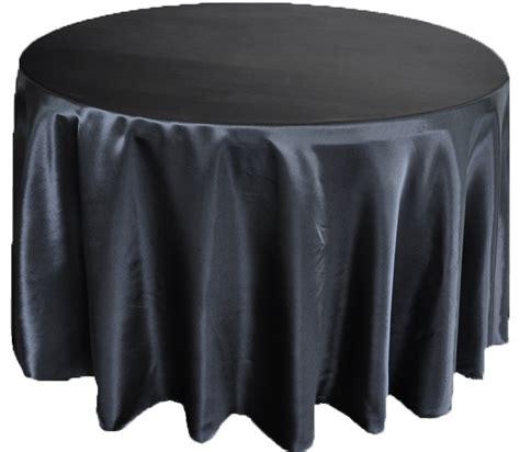 black linen tablecloth 132 round black satin tablecloths