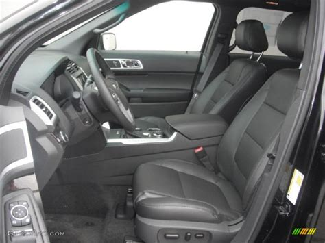 charcoal black interior 2011 ford explorer limited 4wd