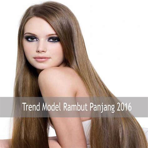 Model Rambut 3 2 1 by Model Trend Gaya Rambut Panjang Perempuan Fashion Style