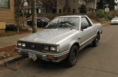old subaru brat old parked cars 1984 subaru brat gl