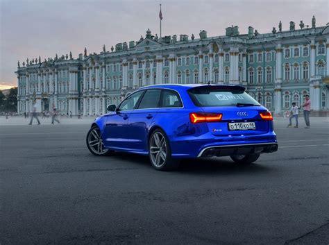 Blue Audi Rs6 by Blue Chrome Audi Rs6 Audi Style