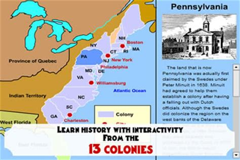 13 Colonies Sections by Resources 4th Grade Mrs Pellum S Class Website