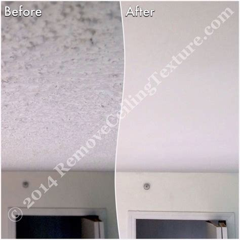 remove popcorn ceiling from plaster www energywarden net